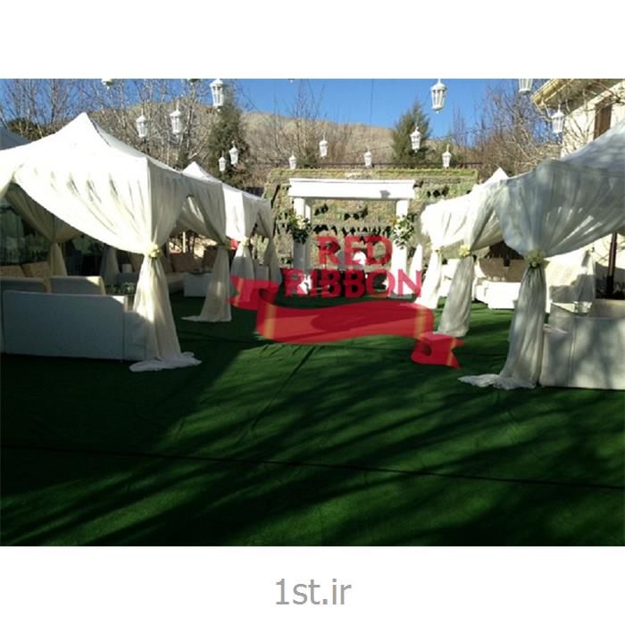 عکس لوازم برگزاری مراسم عروسیطراحی و چیدمان میزهای پذیرایی