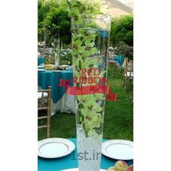 گل آرایی ستون های ورودی مراسم