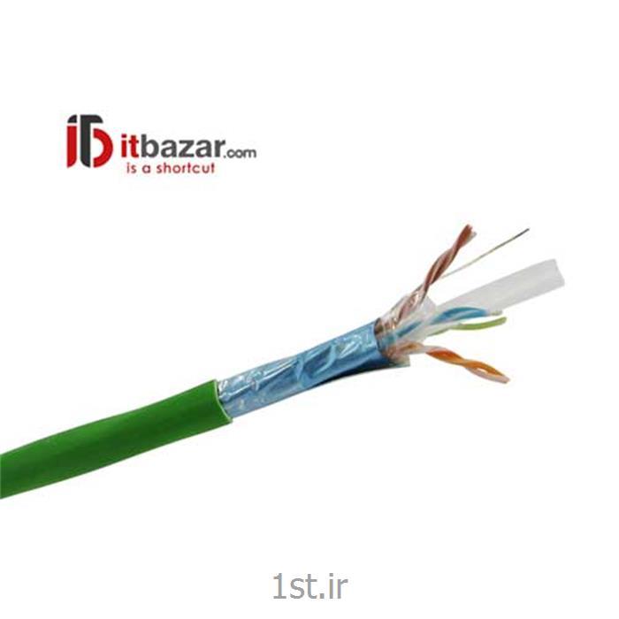 عکس کابل شبکه و پچ کوردکابل شبکه 3M کت 6 اف تی پی(Network Cable 3M Cat6 FTP)