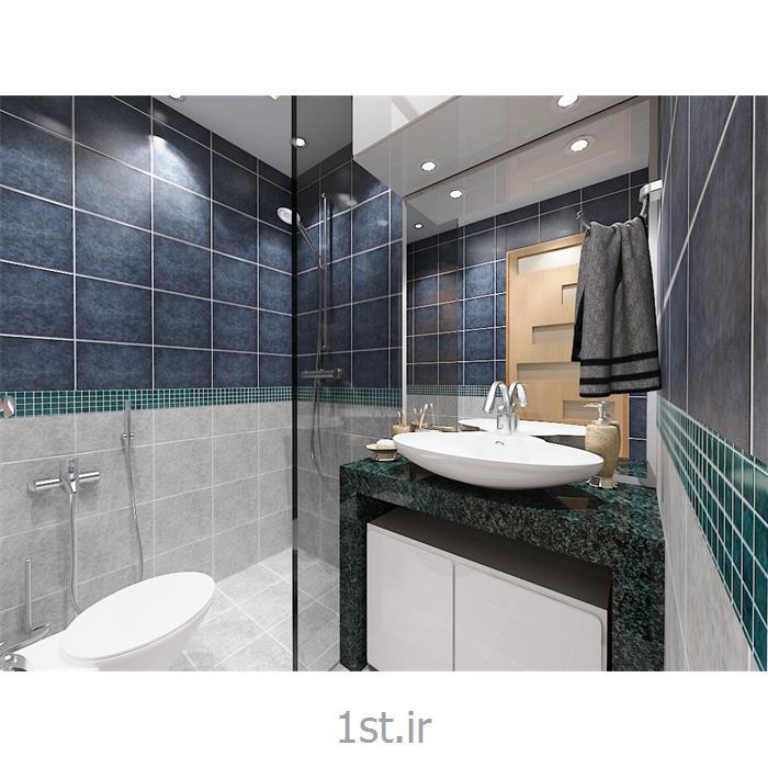 عکس طراحی ساختمانطراحی سرویس بهداشتی توالت فرنگی با روشویی کابینتی