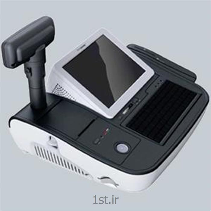 عکس میز صندوق فروشگاهی (صندوق پول و کشوی فروشگاهی)دستگاه پایانه فروشگاهی Mini O 2 POS Bank