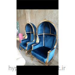 عکس صندلی اتاق نشیمنصندلی تک  چوبی مدل 112