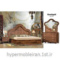 عکس مجموعه (ست) اتاق خوابسرویس خواب کامل اتاق مستر گنبدی مدل 35