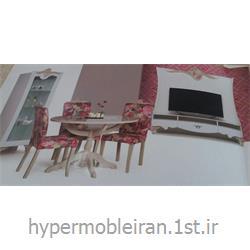 مجموعه ست اتاق پذیرایی  میز غذا خوری مدل مهباد کد 45