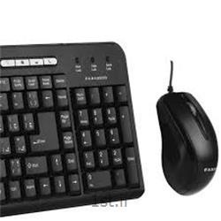 ست کیبورد و موس سیمی فراسو FCM-6140 مدل Wired Keyboard & Wired Optical Mouse FCM-6140