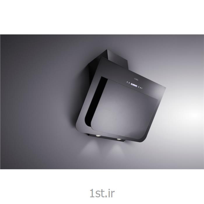 هود آشپزخانه 90 سانت شیشه ای مشکی کلایبرگ مدل H 221