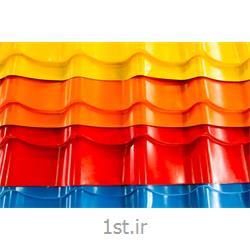عکس پوشش سقفورق سقفی شیبدار گالوانیزه (طرح سفال)