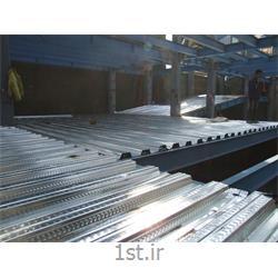 سقف عرشه فولادی در سازه بتنی