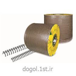 فنر دوبل فلزی روکش دار رول دوگل سایز 6.4 میل