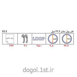 فنر دوبل رول فلزی دوگل سایز 22.2 میل
