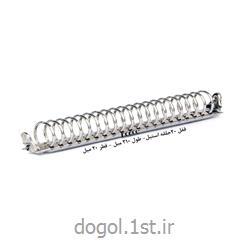 قفل 20 حلقه استیل دوگل طول 210 و قطر 20 میلیمتر