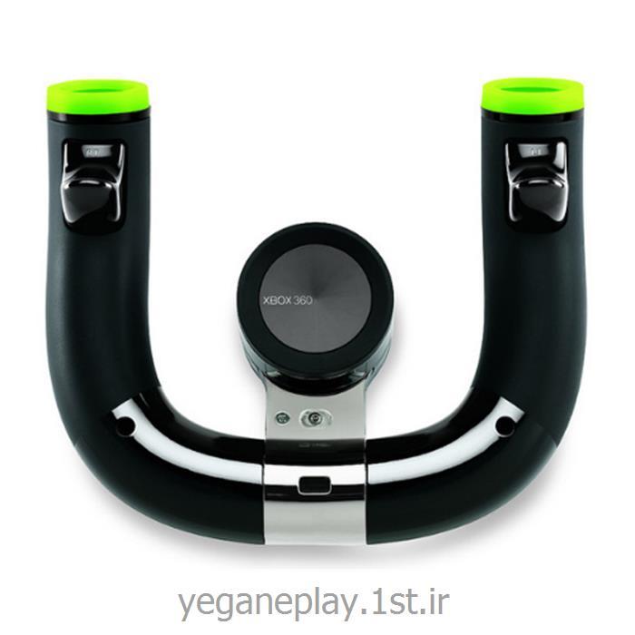 عکس دسته بازی ( Joysticks ) و کنترل کننده های بازیفرمان وایرلس ایکس باکس 360 _steering wheel xbox 360