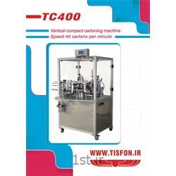 عکس ماشین آلات بسته بندیدستگاه کارتونینگ(جعبه زن) نیمه اتومات مدل TC400
