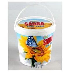 عکس بشکه و سطلسطل پلاستیکی لیبلدار 1500 IML