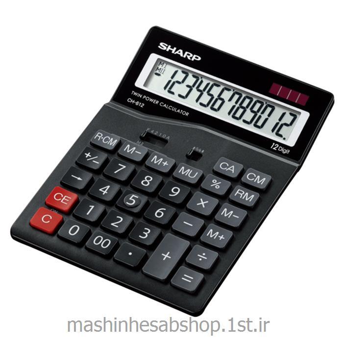 عکس ماشین حسابماشین حساب رومیزی شارپ مدل SHARP CH-612