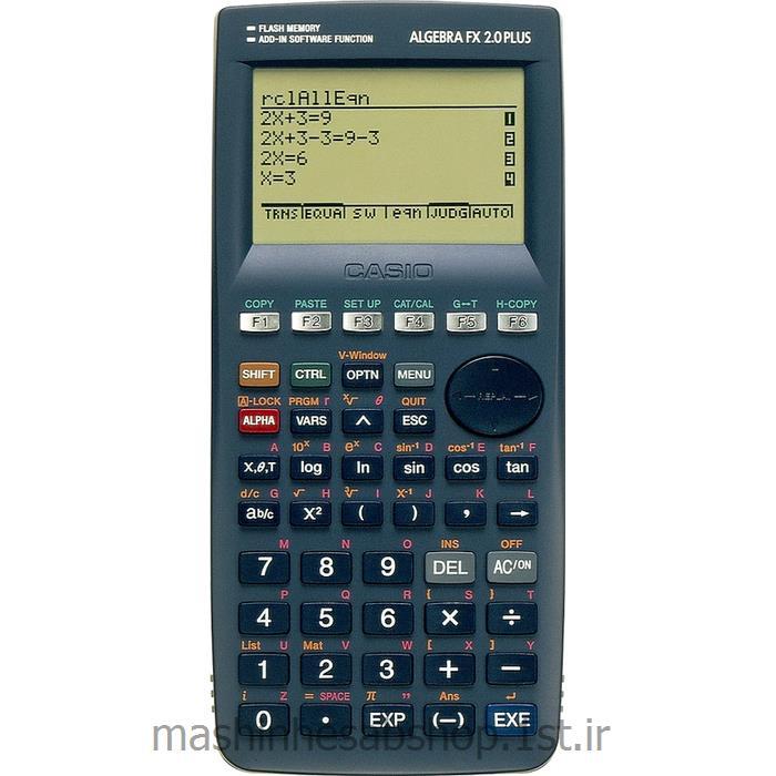 عکس ماشین حسابماشین حساب مهندسی کاسیو CASIO ALGEBRA FX 2.0 PLUS
