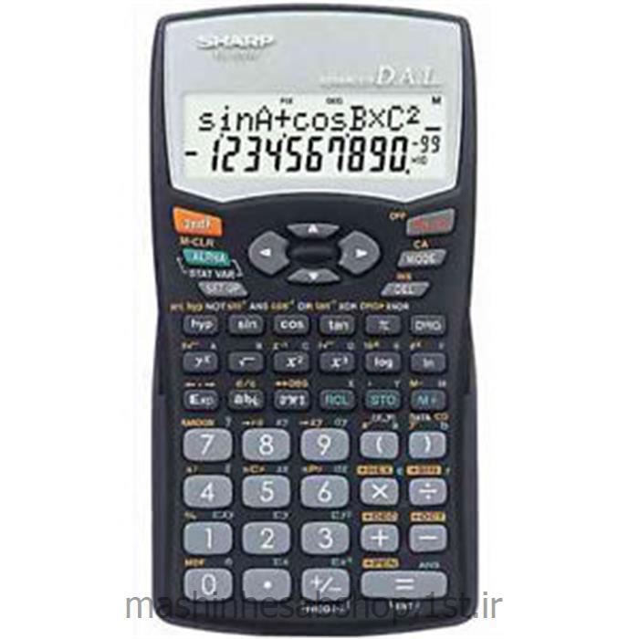 عکس ماشین حسابماشین حساب مهندسی شارپ مدل SHARP EL-509W