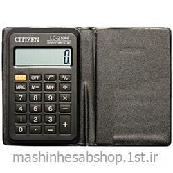 عکس ماشین حسابماشین حساب جیبی سیتی زن مدل CITIZEN LC-210N