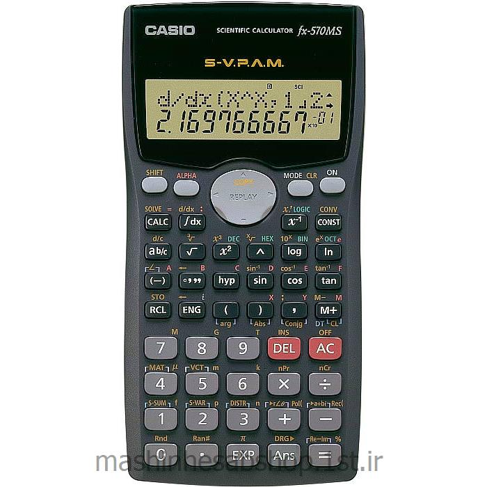 ماشین حساب مهندسی کاسیو مدل CASIO fx-570MS