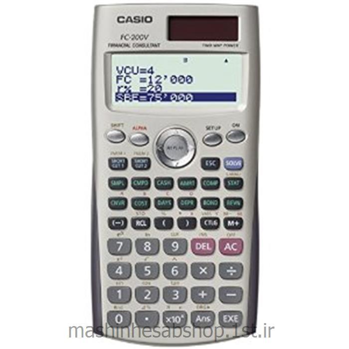 ماشین حساب مهندسی کاسیو مدل CASIO FC-200V