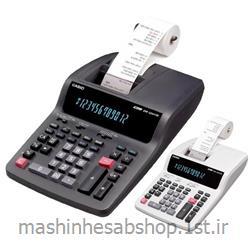 ماشین حساب چاپگر رومیزی کاسیو CASIO مدل DR-120TM-WE