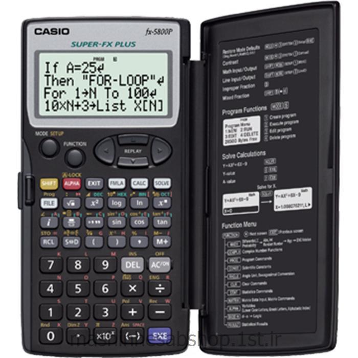 ماشین حساب مهندسی کاسیو مدل CASIO FX-5800P