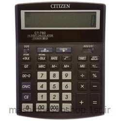 عکس ماشین حسابماشین حساب رومیزی سیتی زن مدل CITIZEN CT-780