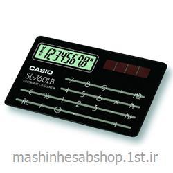 عکس ماشین حسابماشین حساب جیبی کاسیو مدل CASIO SL-760LB-BK