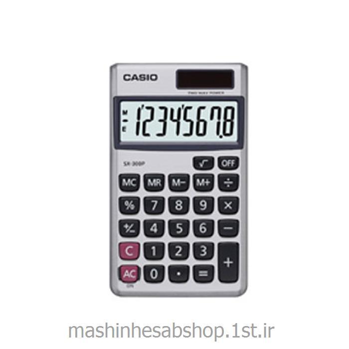 ماشین حساب جیبی کاسیو مدل CASIO SX-300-PW