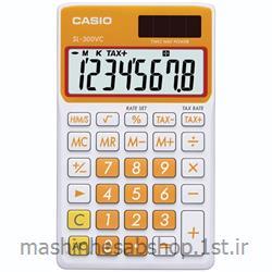 عکس ماشین حسابماشین حساب جیبی کاسیو مدل CASIO SL300VC