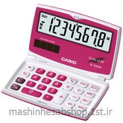 عکس ماشین حسابماشین حساب جیبی کاسیو مدل CASIO SL-100NC-RD