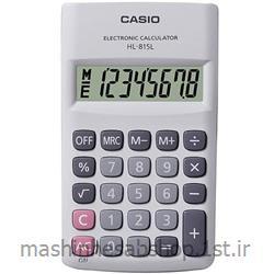 عکس ماشین حسابماشین حساب جیبی کاسیو مدل CASIO HL-815 -LW