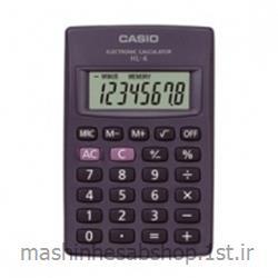 عکس ماشین حسابماشین حساب جیبی کاسیو مدل CASIO HL-4W