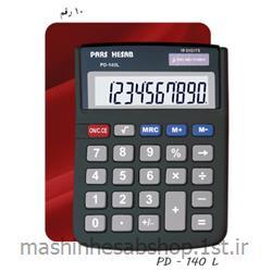 عکس ماشین حسابماشین حساب ایرانی پارس حساب مدل PD - 140 L
