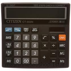 عکس ماشین حسابماشین حساب رومیزی سیتی زن مدل CITIZEN CT-555N