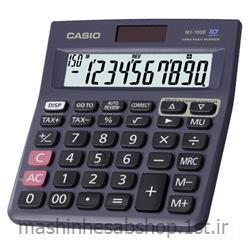 ماشین حساب رومیزی کاسیو مدل CASIO MJ-100D