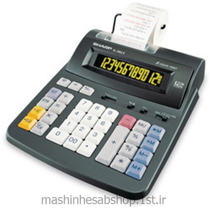 ماشین حساب چاپگر رومیزی شارپ مدل SHARP EL-2902C