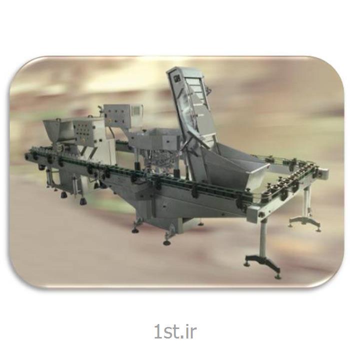 عکس ماشین آلات تولید محصولات شیمیاییدستگاه درب بند فشاری پرسی