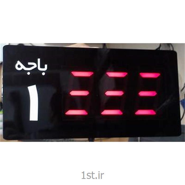 عکس نمایشگر LEDنمایشگر باجه سیستم نوبت دهی (Wirless Segment Monitor& Wireless Dotmatrix Monitor)