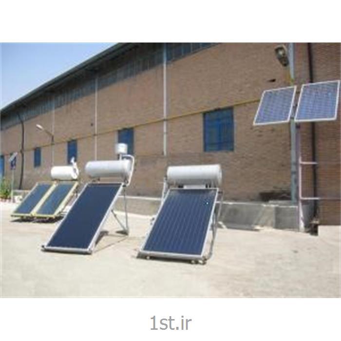 عکس سایر محصولات مرتبط با انرژی خورشیدیطراحی و تولید سیستم آبگرمکن خورشیدی و تولید برق