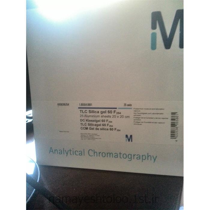 کاغذ تی ال سی 105553 - TLC Silica gel 60