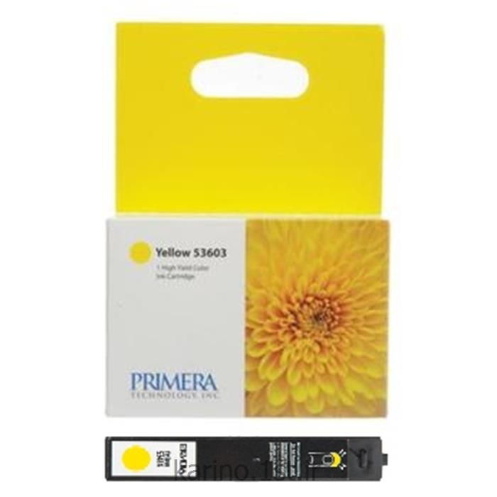 عکس لوازم چاپگر جوهر افشانکارتریج 53603 زرد مخصوص دستگاه سی دی ربات DP4102