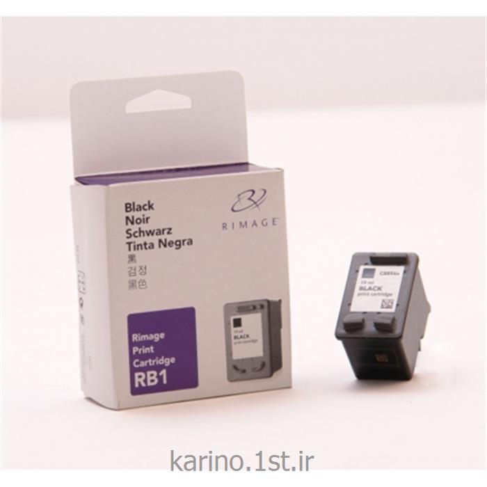 عکس لوازم چاپگر جوهر افشانکارتریج مشکی RB1 مخصوص دستگاه سی دی ربات Rimage