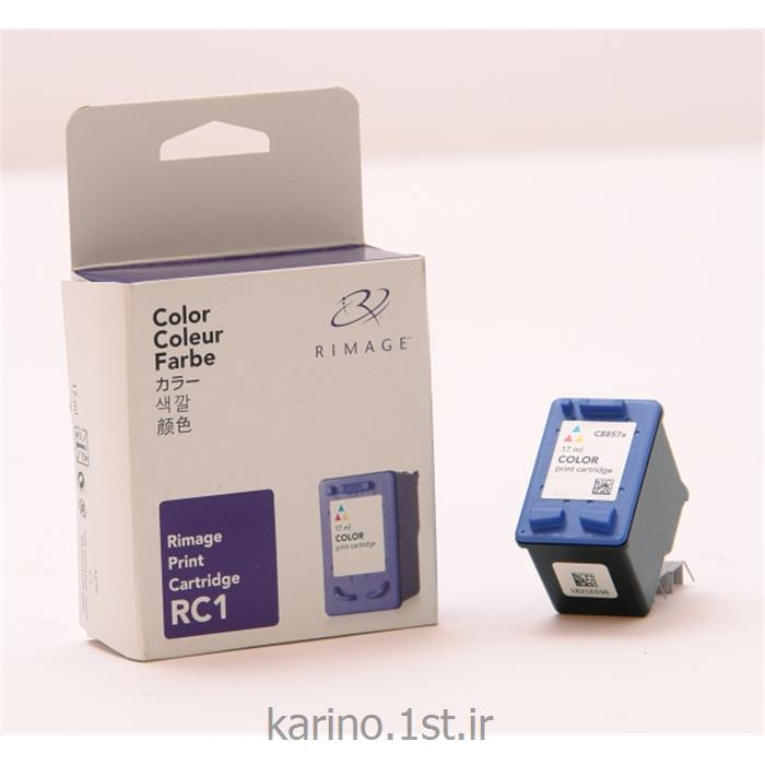 عکس لوازم چاپگر جوهر افشانکارتریج مشکی RC1 مخصوص دستگاه سی دی ربات Rimage
