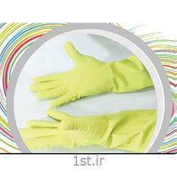 عکس دستکش لاستیکیدستکش پلاستیکی آشپزی  استاد کار  کد 142