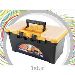 جعبه ابزار پلاستیکی متوسط سپنتا کد 129