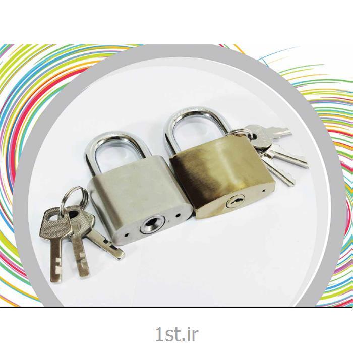قفل آویزی طلایی طرح برنج درب  سایز کوچک (50) مگو
