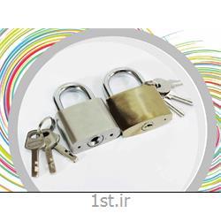 قفل آویزی طلایی درب سایز بزرگ  مگو  کد 119