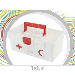 عکس جعبه نگهداری و صندوقجعبه کمک های اولیه پلاستیکی  سپنتا  کد 151