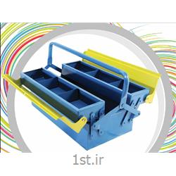 عکس جعبه ابزارجعبه ابزار فلزی سپنتا  کد 128
